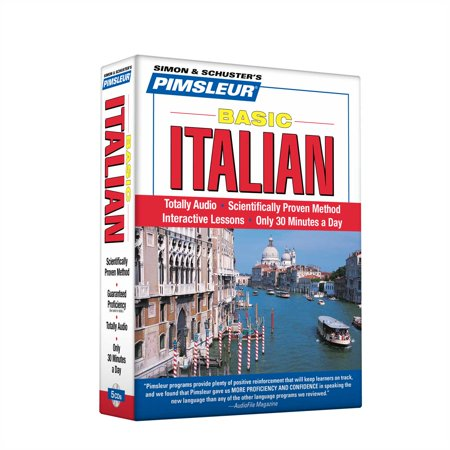 Pimsleur Italian Basic Course - Level 1 Lessons 1-10 CD : Learn to Speak and Understand Italian with Pimsleur Language Programs