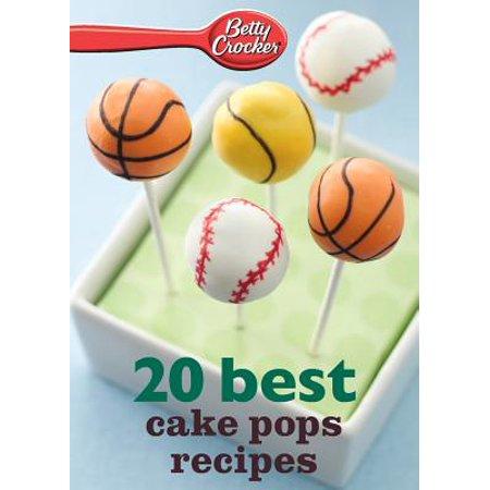 Betty Crocker 20 Best Cake Pops Recipe