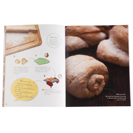 Bake Through the Bible : 20 Fun Cooking Activities to Explore the Bible Story with Young Children