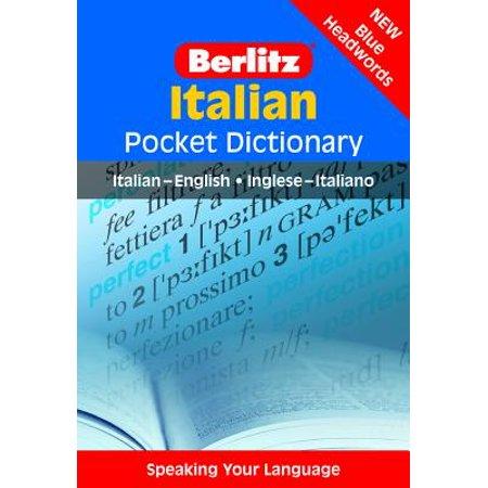 Berlitz Italian Pocket Dictionary : Italian-English/English-Italian