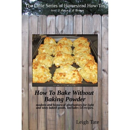 How To Bake Without Baking Powder: Modern and Historical Alternatives for Light and Tasty Baked Goods - eBook