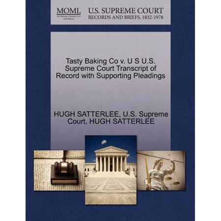 Tasty Baking Co V. U S U.S. Supreme Court Transcript of Record with Supporting Pleadings