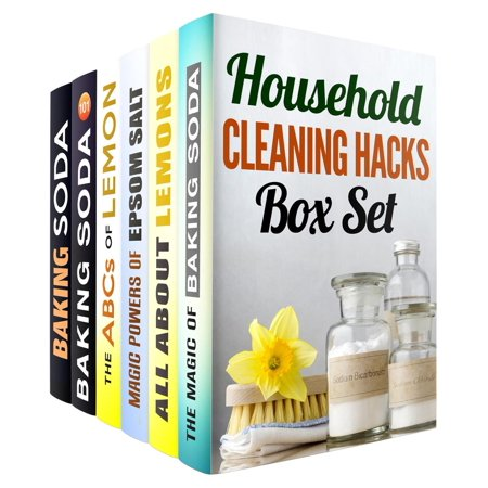 Household Cleaning Hacks: Baking Soda, Epsom Salt and Lemon Recipes to Keep Your Home Clean and Fresh - eBook