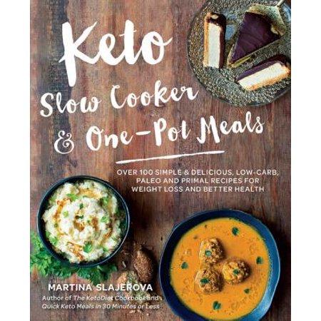 Keto Slow Cooker & One-Pot Meals - eBook
