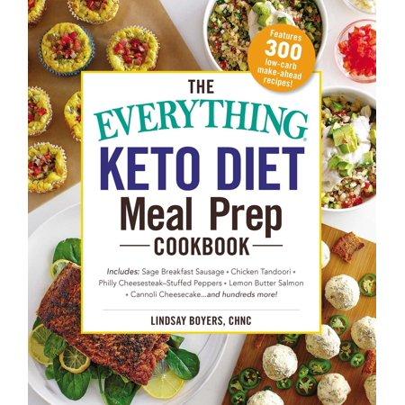 The Everything Keto Diet Meal Prep Cookbook - eBook