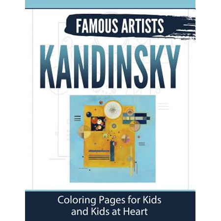 Kandinsky : Coloring Pages for Kids and Kids at Heart